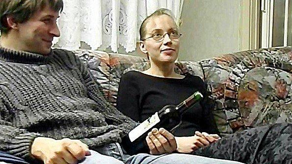 сын ебет пьяную маму в жопу
