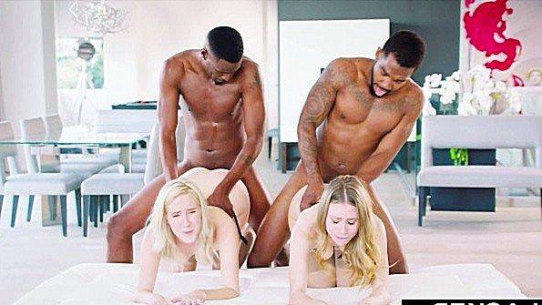 Толстым членом групповой секс с негром молодая (Ace Rockwood, Anya Olsen, Cadence Lux, Jason Brown)