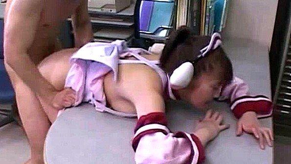 Грудастая жесткий секс косплей японка