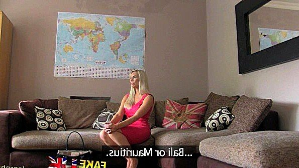 Блонда сисястая секс-кастинг (Taylor Shay)