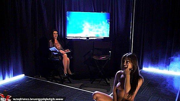 Брюнеточка секс-кастинг симпатичная мастурбирует манду юная показывает стриптиз (Eva Lovia, Jojo Kiss, Nikki Benz)