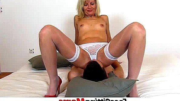 порно зять ебет пожилую тещу