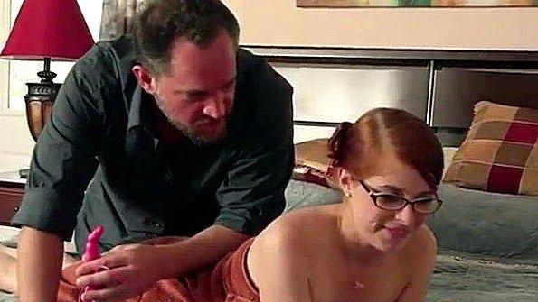 В очко инцест юная рыжая (Alec Knight, Penny Pax)