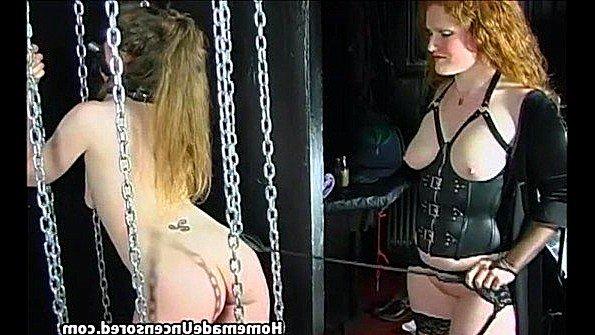 Дилетантша в верёвках изнасилование лесбиянки